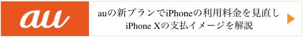 au iPhonex ピタット