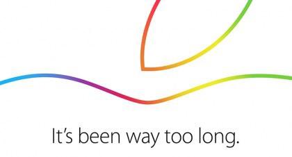 新型iPadシリーズなど発表か!?Appleのスペシャルイベント、10月16日開催決定!