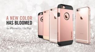 「iPhone 6s」ケースの予約開始!「ネオ・ハイブリッドEX」ローズゴールド向けのケースも!Spigenより